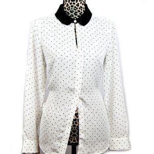LC Lauren Conrad dress Blouse Size M